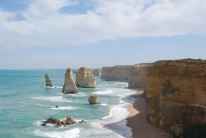 Les 12 Apotres, sur la Great Ocean Road (Sud de l'Australie)