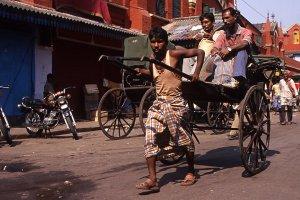 Calcutta,-pousse-pousse