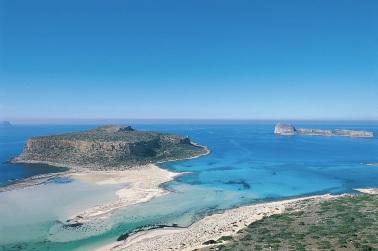 Lagon de Balos en Crète