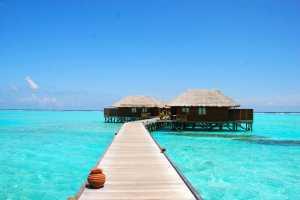 Hôtel aux Maldives