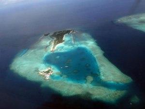 Archipel des Maldives en voie de disparition