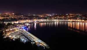 San Sebastian de nuit