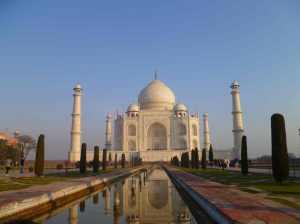 Taj Mahal sans les touristes