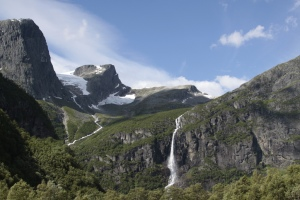 Plaine en Norvège