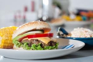 Le fameux hamburger américain