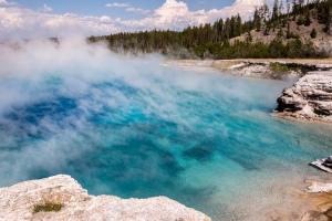 Excelsior geyser à Yellowstone