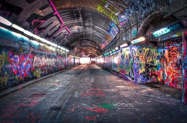banksy tunnel