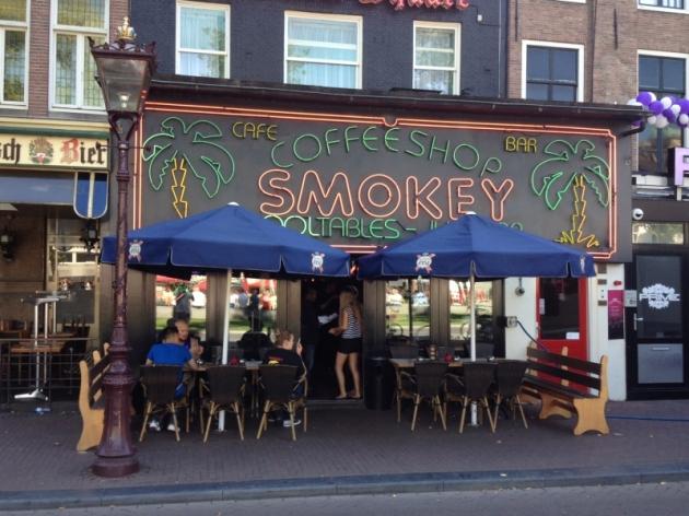coffe shop amsterdam