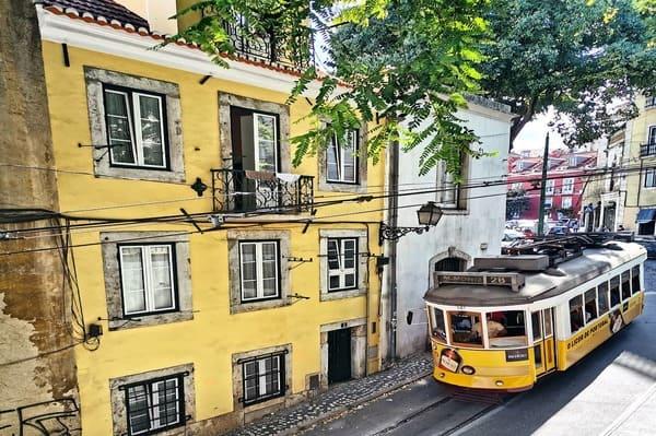 Prendre le tramway Lisbonne